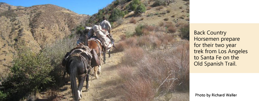 Old Spanish Trail Association - Back Country Horsemen